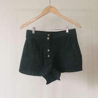 Zara Suede Shorts