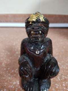 Hanuman statue ( hand - crafted) ivory tooth