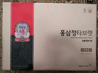 Korean Red Ginseng Tablet
