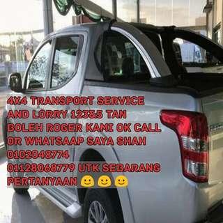 Transport service 4wd