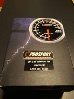 Prosport performance Electrical 52mm volt gauge