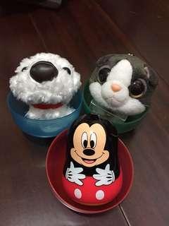 迪士尼米奇/折耳貓吊飾