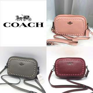 Coach Women's Design Pearl Sling Crossbody Bag
