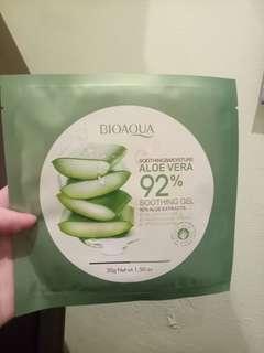 Masker BioAqua Aloe Vera