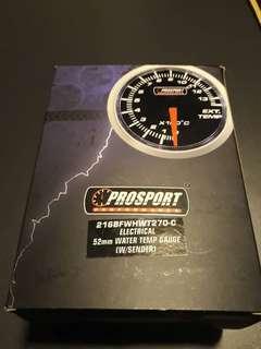 Prosport performance Electrical 52mm water temp gauge W/sender
