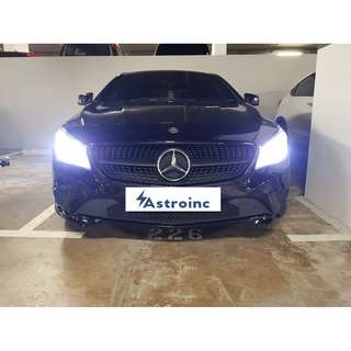 Authentic Xenon 8000k ice white bulbs to upgrade your car headlights with installation