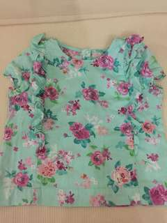 Mothercare Floral Top for Girls