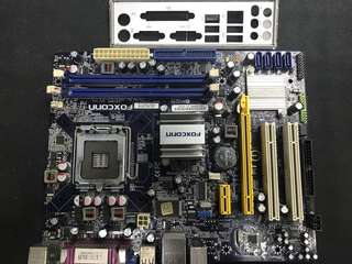 支持環保 FOXCONN G41MXE DDR3 775 電腦底板