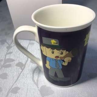 陶瓷杯 警察 minicraft 保安 護衛