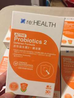 Re:Health active probiotics 2
