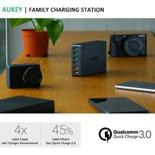 AUKEY Charging 6 Port USB QC 3.0