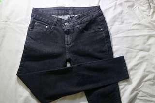 Black guess pants