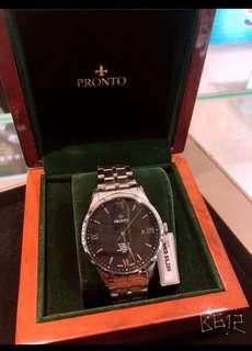 瑞士百浪多機械腕錶,藍寶石鏡面,錶盤40 mm