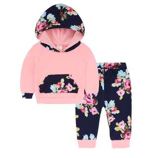 Female baby two-piece set sweater