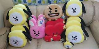 Unofficial BT21 Plushies (11 inches)