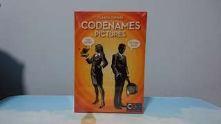 🆕 Codenames Pictures Board Game