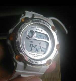 auth BABY G BG3000 casio watch