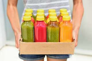 Bicycle / eScooter Juice Delivery