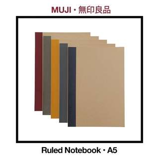 MUJI Ruled Notebooks (A5)