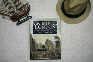 Criminal London - History book with pictures
