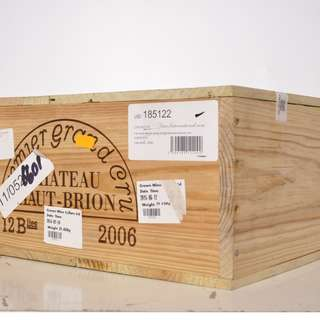 Chateau Haut Brion 2006 x 12 OWC, Immaculate condition and prestinely stored!