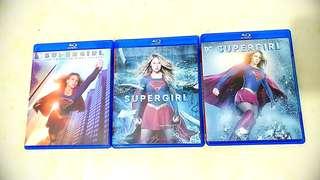 大平賣最後一套!!(非正版)DC系列劇 Super Girl Blu-ray藍光碟 1,2, Seasons