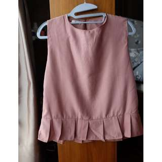 Clemence dusty pink