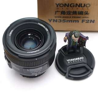 lensa fix yongnuo 35mm F2 for nikon