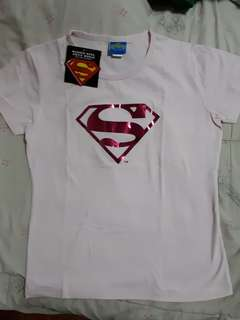 Authentic Superman Pink Tee (warner bros)