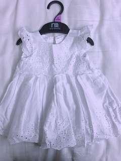Baby girl dress(Mothercare)