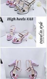 High heels strap korea #A8