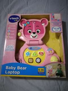 Brand new baby bear laptop