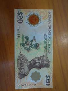 Brunei $20/-