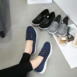 [KELSEY SLIPON SNEAKERS G360] Sepatu Fashion Wanita Impor Murah