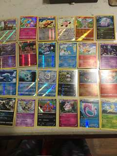 180 rare and holos Pokemon Card (no ex)