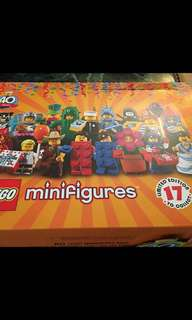 LEGO mini figures series 18 include policeman