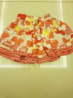 Pumpkin patch skirt