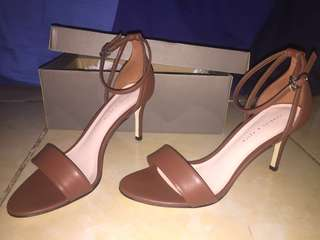 Heels Ankle Strap Charles and Keith Original