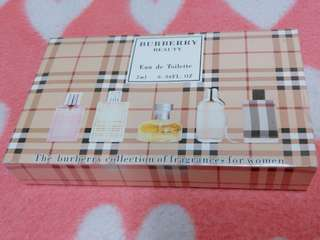 🚚 BURBERRY BEAUTY 女性香水 試管香水禮盒  2ml*5入
