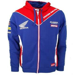 Motogp Honda team CBR crew racing jersey sweat shirt hoodie jacket sponser windbreaker