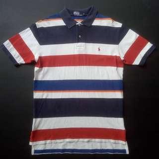 Polo Ralph Lauren Stripe Polo Shirt 90s