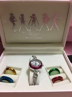 USJ Sailormoon 美少女戰士手錶共5個錶面可替換
