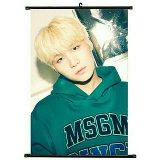 BTS hanging poster