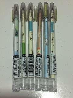 Pure Colour 0.5mm Black Gel Ink Pen
