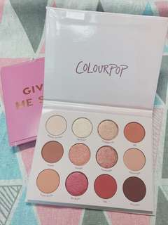 Colourpop全新GIVE IT TO ME STRAIGHT