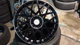 Rays Wheels Variance V.V.10M 19 X 8 ET45  一套4隻鈴,不連呔,無花。合W205 C 系,CLA 系