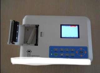Ecg machine 3 channel
