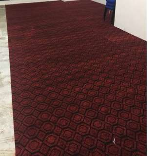 Used office carpet
