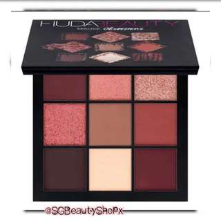 🚚 💄💌 FREE Normal Mail † HUDA BEAUTY Mauve Obsessions Eyeshadow Palette 67g