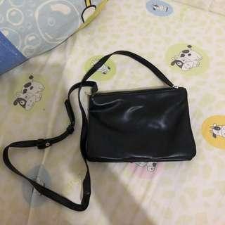 celine MINI TRIO SLING BAG - BLACK